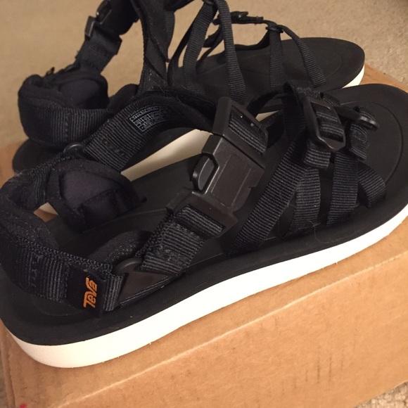 16dc688c6f7d New TEVA ALP PREMIER SPORT SANDAL Black Size 8